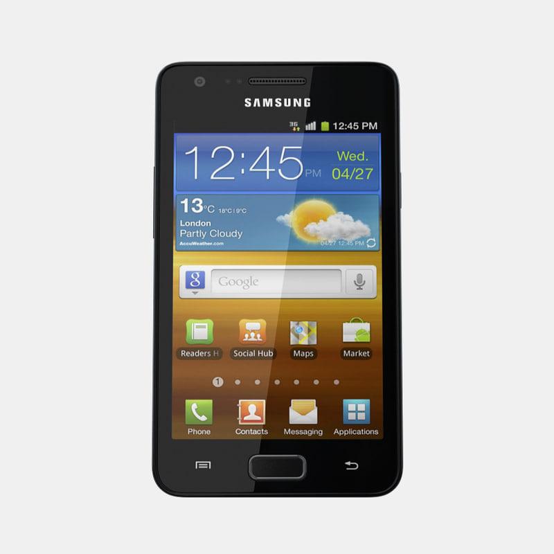 samsung galaxy r mobile phone 3d model. Black Bedroom Furniture Sets. Home Design Ideas