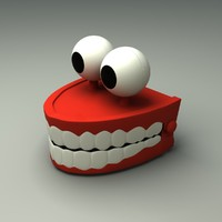 Toy Chattering Teeth