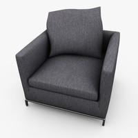 3d max hires modern chair