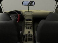 car interior 3ds