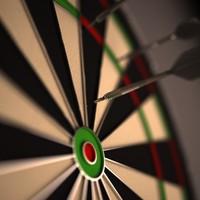 maya dartboard darts