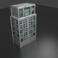 office building blend