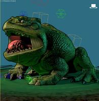 frog king max