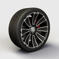 alloy ion 180 rims 3d model