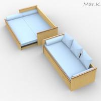 classic sofa 3ds
