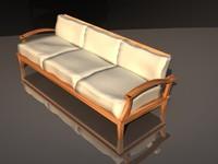wooden sofa garden max
