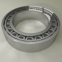 free obj mode ring bearing