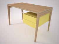 mint desk 3d max