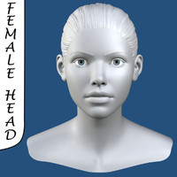 max realistic female head