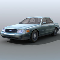 3ds max city sedan car crown