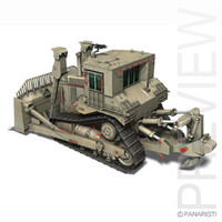 3d idf armor model