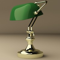3d eichholtz lamp bankers model