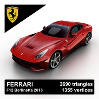 3ds max 2013 ferrari f12 berlinetta