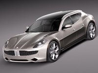 fisker karma 2012 sedan 3ds
