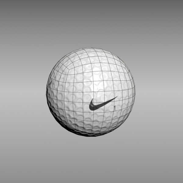 golf ball 3d model - Golf balls... by 3D4Ds