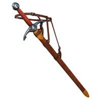 c4d sword scabbard