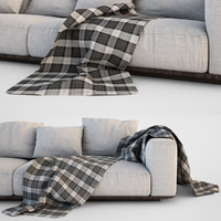 3d sofa blanket set