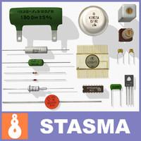 Vintage electronics components