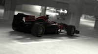 virgin f1 racing 3d obj
