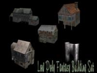 free building set s 3d model