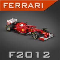 maya pk3d ferrari f1 f2012
