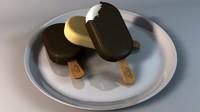 free ice cream 3d model