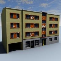 3d model building tallinn