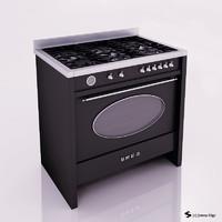 3d oven smeg model