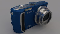 3d panasonic tz5 model