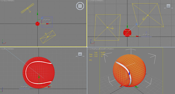 free tennis ball 3d model - Tennis Ball... by 3Din