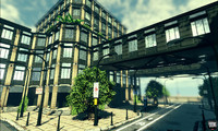 UDK City Building low poly