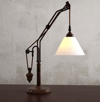maya counterweight table lamp