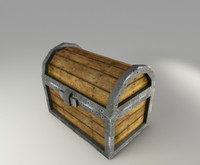 3ds max chest games