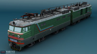 VL82 012 russian electric locomotive