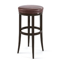 bar stool traditional 3d max