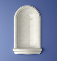 recessed wall brittany niche 3d model