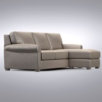 Crate and Barrel - Carlton King Sleeper Lounge Sofa