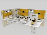fair stand 3d model