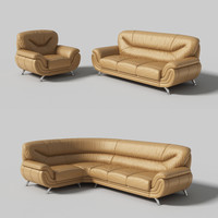 3ds max modular sofa madrid