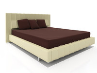 Molteni High Wave bed