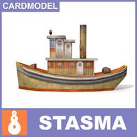 Papermodel ship
