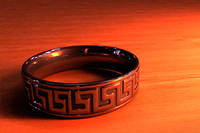 3d greek wedding band