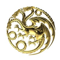 3d model of dragon pendant