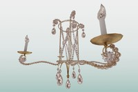 crystal ceiling light max