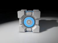 3d weighted storge cube portal