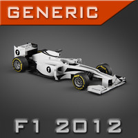 Generic F1 2012 specification