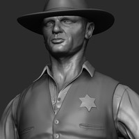 cowboy sheriff character max