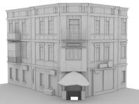3d city houses 19 99! model