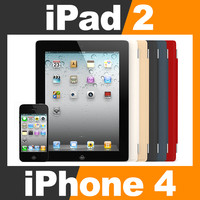 apple iphone 4 ipad 3d max
