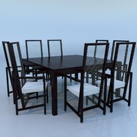 minimalist table 3d model